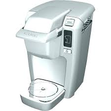 White Keurig Coffee Maker Mini K15