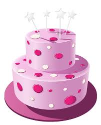 Cake clipart pink cake 11