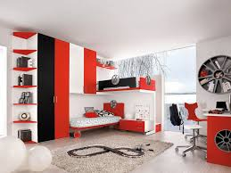 Red And Black Room Decor Elegant Baby Nursery White