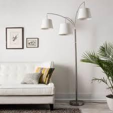 Threshold Arc Floor Lamp by Bronze Boom Contemporary 41 1 2 Inch W Arc Floor Lamp