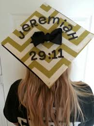 Graduation Decorations 2015 Diy by Biblical Verse College Grad Cap Graduation Party Pinterest