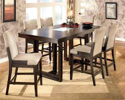 Bench For Counter Height Table by Dining Chairs 9 Piece Counter Height Dining Set Chairs For Sale