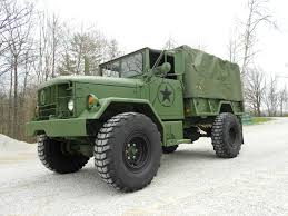 100 Army 5 Ton Truck 196 89 Kaiser M3A2 M109A3 Bobbed 2 With Cargo Cover