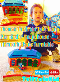 thomas and friends take along roundhouse tidmouth sheds turntable
