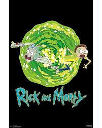 Portal Rick And Morty Poster 000