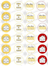 Housewarming Party Cupcake Toppers By CACustomDesigns On Etsy