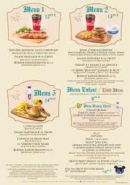 cuisine sur la 2 au chalet de la marionnette menu dlp guide disneyland