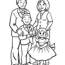 Coloring My Family Pages