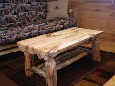 Coffee Table Rustic Log Furniture Log Furniture And Log Chairs