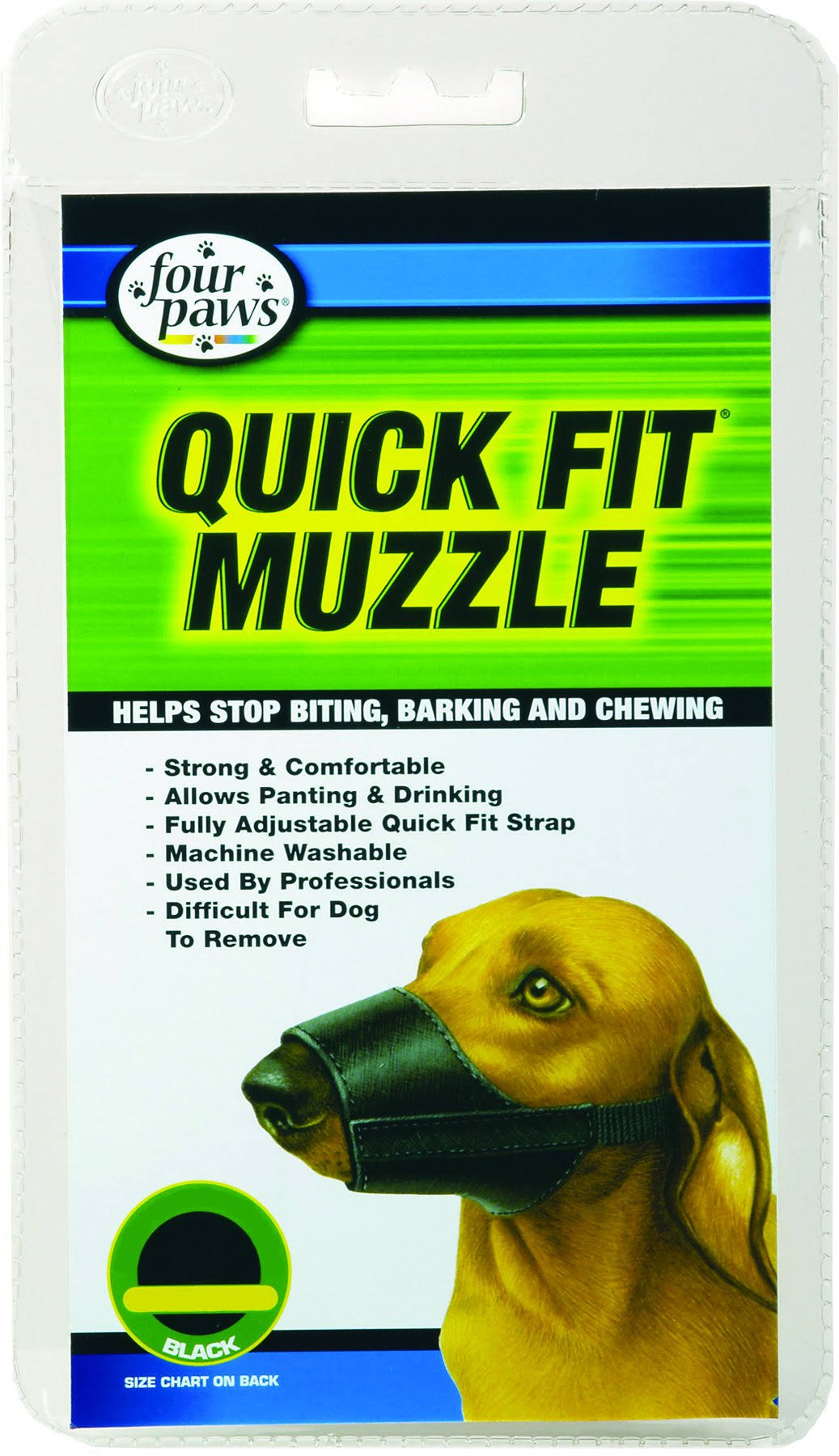 Four Paws Quick Fit Dog Muzzle