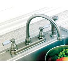 2 Handle Kitchen Faucet With Spray by Grand Delta 2 Handle Kitchen Faucets Delta Vessona Faucet Repair