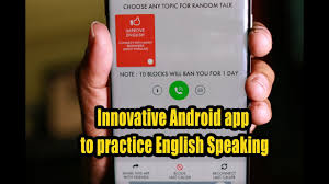 Last Day For 1 Any by Innovative Android App To Practice English Speaking Youtube