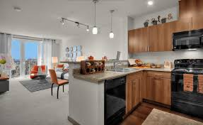 Best Seattle Apartments Freshome Legacy At Pratt Park Onyx Modern Interior Office Open Space Design