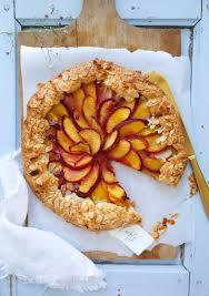 rezept für einfache pfirsich tarte als galette ein