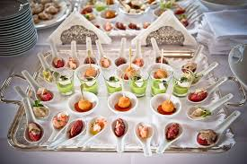 Lake Como Wedding Reception Appetizers