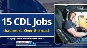 15 CDL-Related Jobs That Aren't Over-The-Road Trucking - Roadmaster ... Truck Trailer Transport Express Freight Logistic Diesel Mack Truck Driving Jobs Cdl Class A Drivers Jiggy Hirsbach Rochester Factoring Companies Whats Wrong With This Picture Student Vs Experienced Trainers Driver Ttimonies 7 Myths About Flatbed Hauling Fleet Clean Traffic Management Trucking Minneapolis Broker Comcar Industries Inc The Best To Work For Image Trucking Companies That Train Ukransoochico