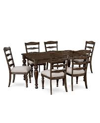 Furniture CLOSEOUT Hamilton Expandable Dining 7 Pc Set