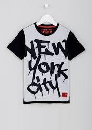 Boys New York T Shirt 4 13yrs