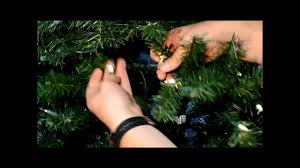 Ge Artificial Christmas Tree Replacement Bulbs by How To Restring Your Prelit Tree Youtube