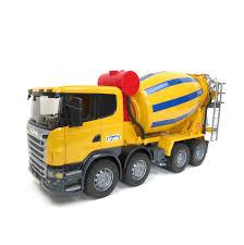 100 Bruder Cement Truck 116th BRUDER Scania Mixer
