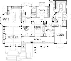 Spacious House Plans spacious home plan for a sloping landscape 6978am