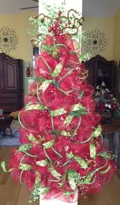 Accessories Pleasing How Decorate Christmas Tree Deco Mesh Garland