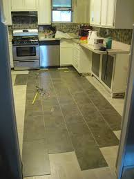 Trafficmaster Vinyl Tile Groutable by Our Old Abode Kitchen Floor Groutable Vinyl Tile