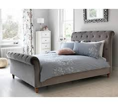 buy heart of house cranford scroll double bed frame silver at