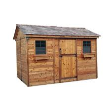 Arrow Woodridge Shed 10x12 by Handy Home Products Installed Columbia 12 Ft X 12 Ft Wood