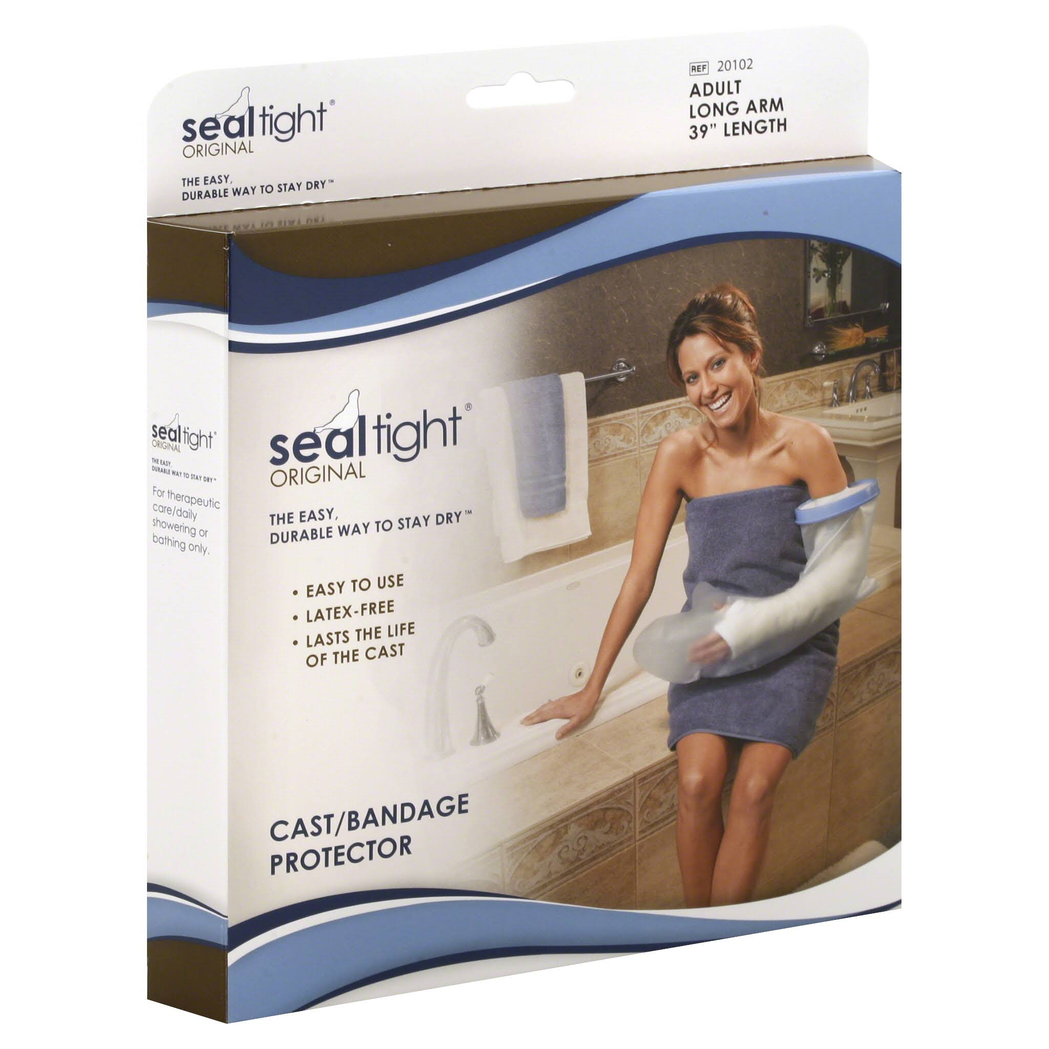 Seal Tight Original Arm Bandage Protector - Adult Long Cast
