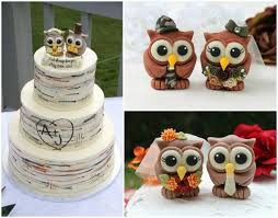 Wedding Owl Cake Topper Rustic Love Birds Bride And Groom Camouflage Country Banner