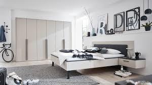 interliving schlafzimmer serie 1014 komplettzimmer mit extras mattgraue kristall lackoberflächen vierteilig