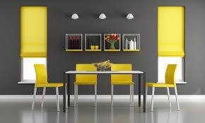wohnideen in gelb esszimmer einrichtungsideen farbakzente