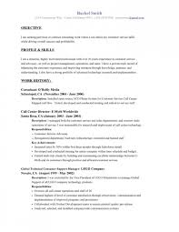 A Resume Objective Great Examples On