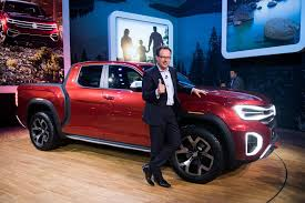 100 Volkswagen Truck A Pickup Truck VW Stuns New York Auto Show With Atlas