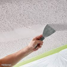 Patching Popcorn Ceiling Paint by 11 Tips On How To Remove Popcorn Ceiling Faster And Easier