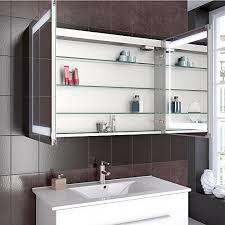 badzubehör textilien led spiegelschrank 3türig