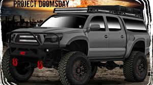 Project Doomsday Gets Raptor Lined U-POL Raptor Bedliner - YouTube