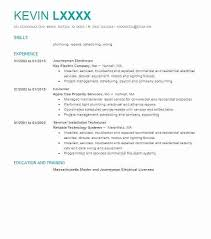 Resume Summary Examples For Electrician Plus Journeyman To Frame Perfect