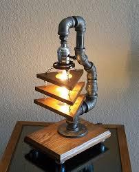 Industrial Art DIY Pipe Lamp