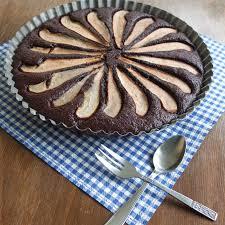 pâtisserie nadine birnen schoko tarte ohne butter und ohne