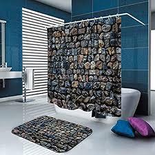 taihang kreative duschvorhang dicke warme druck polyester