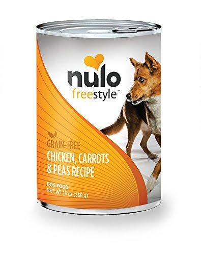 Nulo Freestyle Dog Food - Chicken Carrots & Peas, 368g