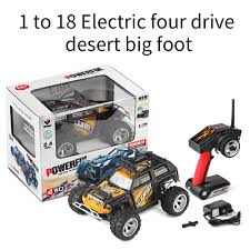 100 Rc Truck Wheels 118 RC Cars 24Ghz Remote Control Toy Electric Four Wheel Drive