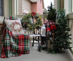Pre Lit Entryway Christmas Trees by All Things Thursday Link Up Party No 61 Front Porches Porch
