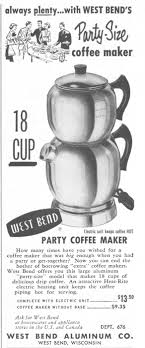 West Bend Aluminum pany And Steam Espresso And Cappuccino