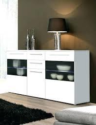Marvelous White Gloss Dresser Modern Buffet Sideboard High Gloss