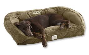 Dog Couch Deep Dish Dog Bed with Quilted Sleep Surface Orvis UK