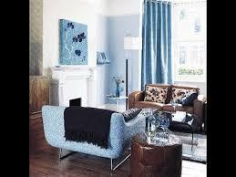 light blue curtains white sofa living room