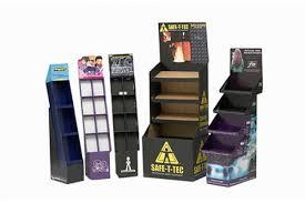 Custom Cardboard Product Retail Display Stands